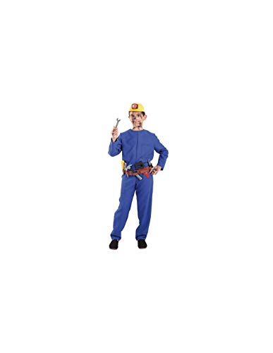 DISBACANAL Disfraz de minero Infantil - -, 10 años