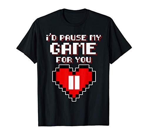 Diseño de juegos para San Valentín - Pondría mi juego en Camiseta