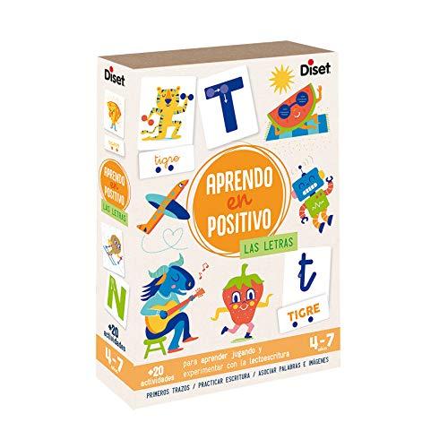 Diset - Aprendo en positivo Las Letras - Juego educativo a partir de 4 años
