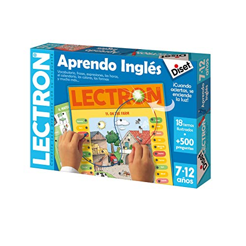 Diset - Lectron Aprendo Inglés - Juego educativo a partir de 7 años