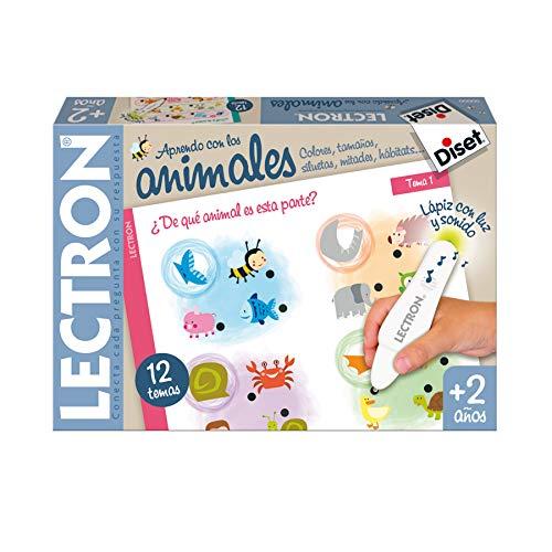 Diset- Lectron Baby animales - Juego educativo a partir de 2 años