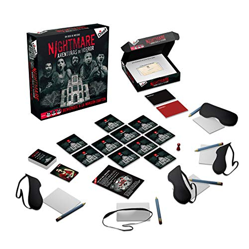Diset- Nightmare - Juego de mesa adulto a partir de 16 años