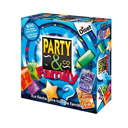 Diset - Party & Co Family - Juego de mesa familiar a partir de 8 años