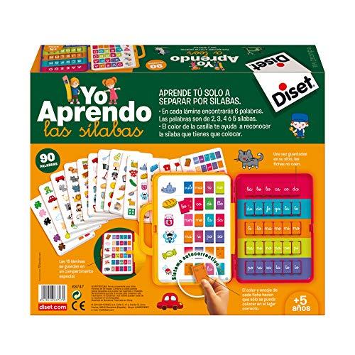 Diset- Yo aprendo las sílabas - Juego educativo a partir de 5 años