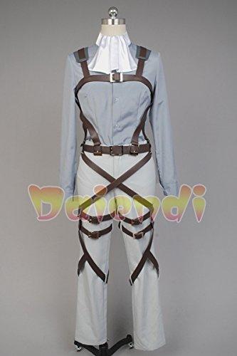 Disfraz de cosplay de legión de reconocimiento, Shingeki no Kyojin (Ataque a los titanes), para adulto, de la marca Daiendi