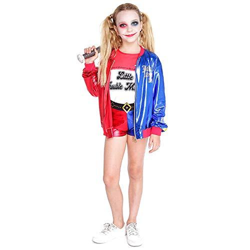 Disfraz Joker's Baby niña Infantil para Carnaval 10-12 Pantalón Corto (23512)