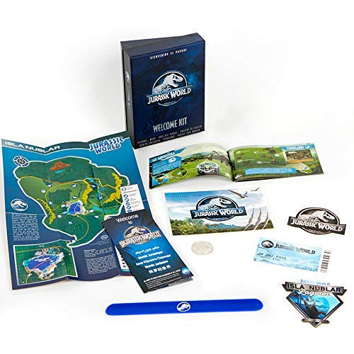 Doctor Collector Jurassic World Welcome Kit - (Entrada, Mapa, Pulsera, Guia Dinosaurios...)
