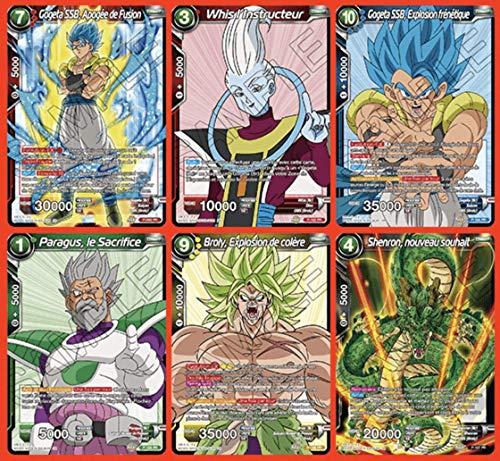 Dragon Ball Super Card Game- Deck de Inicio de 51 Cartas Rising Broly, versión Francesa SD08, 0, 0