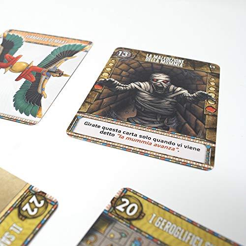 dVGiochi - Deckscape-La Maledición de la Sfinge-Una Escape Room de Bolsillo - Edición Italiana, DVG5709