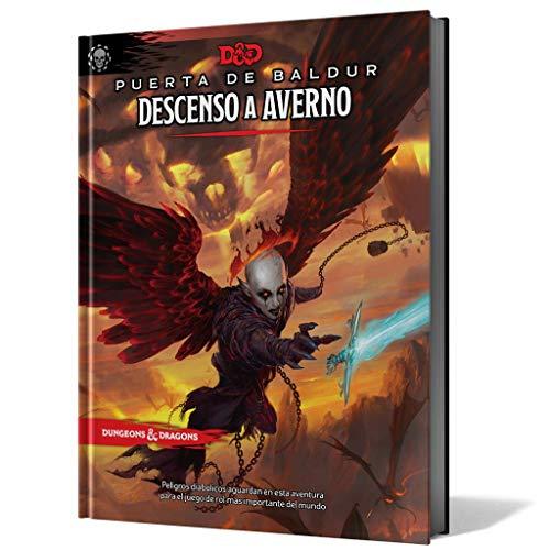 Edge Entertaiment España- D&D - Descenso a Averno - Juego de rol, Color (Dungeons & Dragons EEWCDD12)