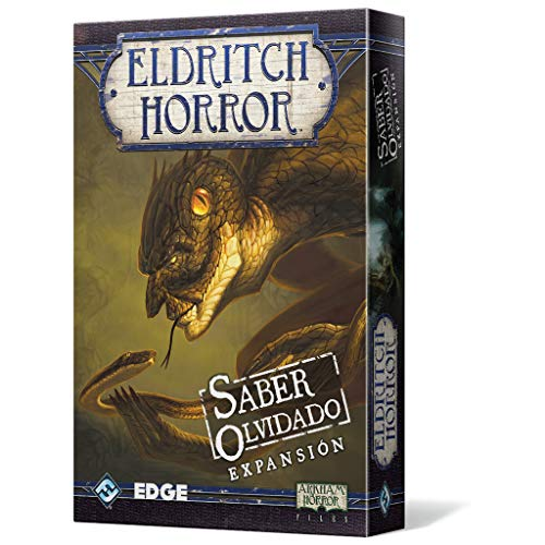 Edge Entertainment - Saber Olvidado: Eldritch Horror, Juego de Mesa (EDGEH02)