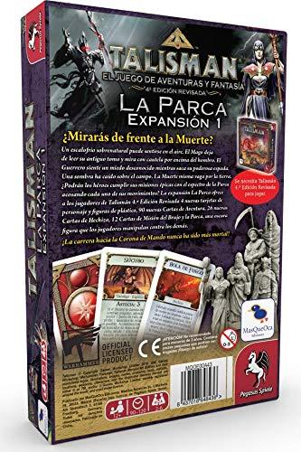 EDICIONES MAS QUE OCA Talismán la Parca Español (MQOE00A43)