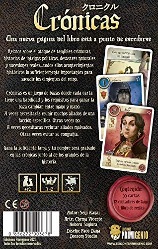 EDICIONES PRIMIGENIO Cronicas (EPCR0001)