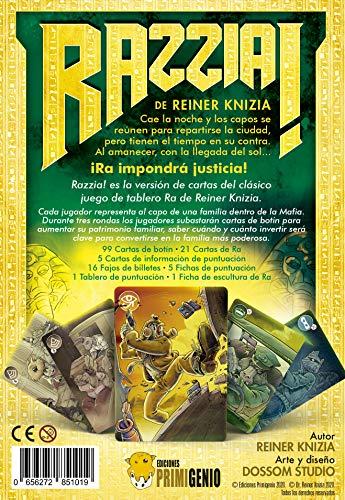 EDICIONES PRIMIGENIO EPRZ0001 Razzia! Juego de Mesa