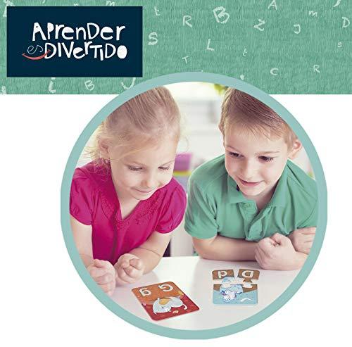 Educa- Aprender es Divertido El Abecedario, Juego educativo para niños, a partir de 3 años (18696) , color/modelo surtido