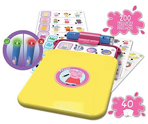 Educa - Conector Junior Peppa Pig: aprende sobre formas, colores, números, lógica y asociaciones, juego educativo para niños, a partir de 3 años (16230)