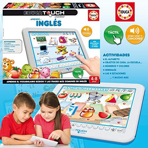 Educa- Touch Junior Aprendo Inglés Juego Educativo para Niños, Multicolor (15438)