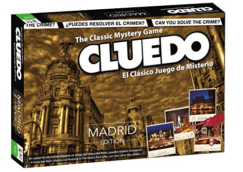 ELEVEN FORCE Cluedo Madrid, Multicolor, Talla Única