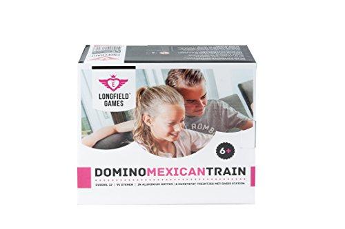 Engelhart - El Tren Mexicano Dominos D12 en Caja metálica - 250160