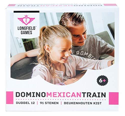 Engelhart - Maleta de Domino Tren Mexicano D12 - 250150