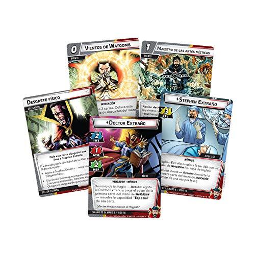 Fantasy Flight Games- Marvel Champions - Doctor Extraño, Color (MC08ES)