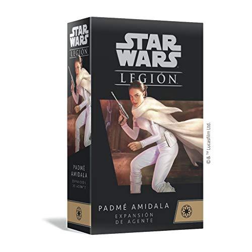 Fantasy Flight Games- Star Wars Legion - Padmé Amidala Expansión de Agente - Juego de Miniaturas, Color (SWL66ES)