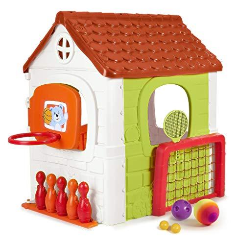FEBER- Activity House 6in1, Casa Infantil a Partir de 3 años con Juegos incorporados (Famosa 800012606)