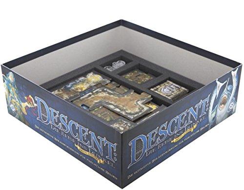 Feldherr Foam Tray Value Set for Descent: Journeys in The Dark 2nd Edition Board Game Box
