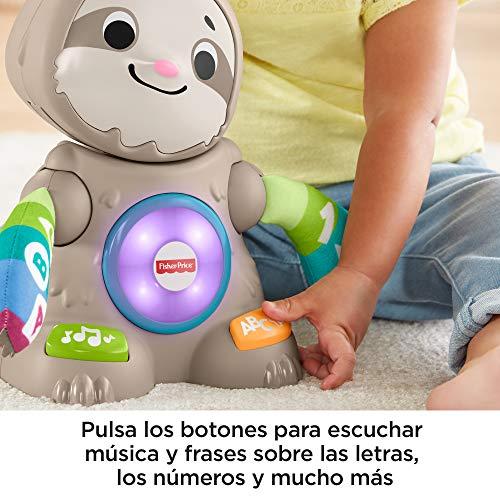 Fisher-price perezoso linkimals, juguete interactivo bebés +9 meses (mattel ghy88).