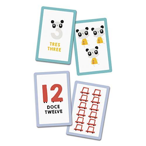 Fournier- Lemon Ribbon 1,2,3, Mi Primer Juego para Aprender los Números Baraja de Cartas Educativa, Color Multiple (40