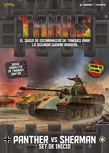 Gale Force 9 Tanks: Set de Inicio Panther vs Sherman (Castellano)