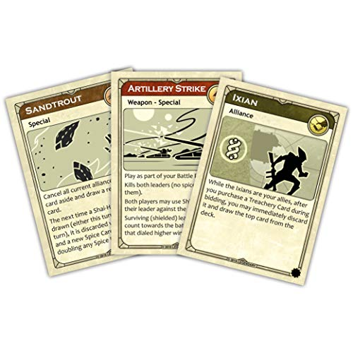 Gale Force Nine GF9DUNE2, Juegos de Mesa