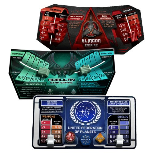 Gale Force Nine GF9ST001 Star Trek: Ascendancy - Juego de Mesa