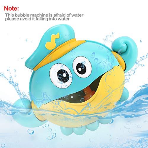 Gifort Juguete Baño Bebe, Ducha de Niños Baño de Burbujas con Agradables Canciones Infantiles para Ideales Burbuja de Baño Juguetes para Niños