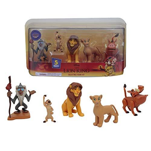 Giochi Preziosi Disney Rey León - Juego de 5 Figuras