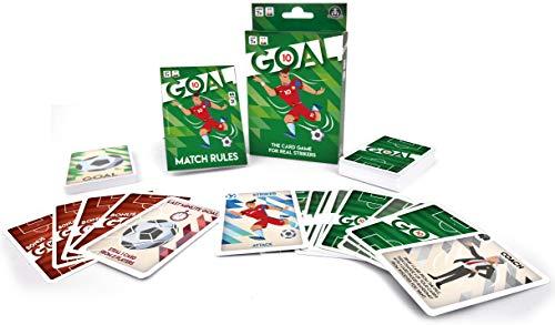 Giochi Preziosi, Goal 10, Juego de Cartas para la Familia y los Amigos en el fútbol, de 2 a 5 Jugadores, 65 Cartas, Juegos de Mesa Desde 7 años, DEC01