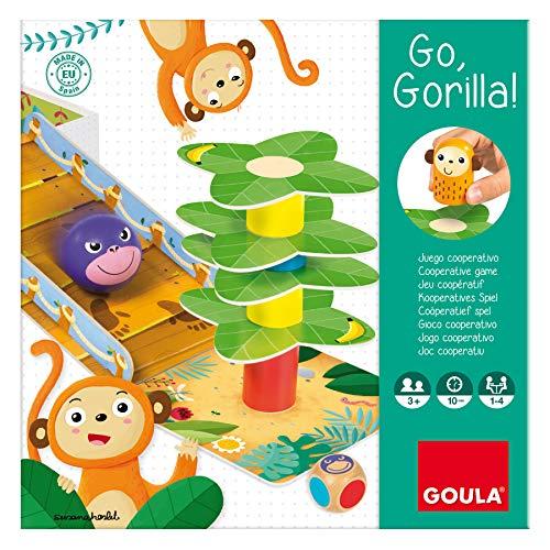 Goula - Go Gorilla - Juego de mesa preescolar a partir de 3 años