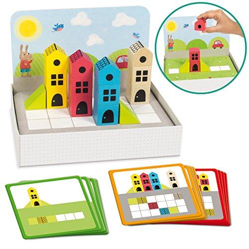 Goula- Logic City Juego Educativo para Niños, Multicolor (50200)