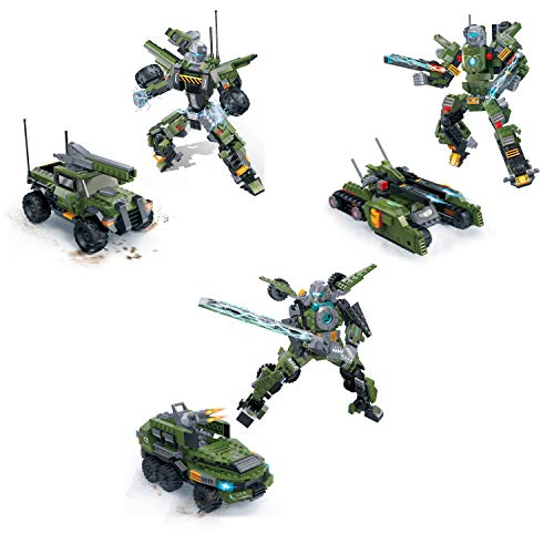 GUDI Kit de construcción de Transformers (Kit 3 Guerreros)