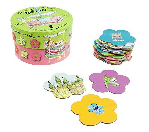 Hans Christian Andersen Mini Memo Game La Princesa y el Guisante (Barbo Toys 6128)