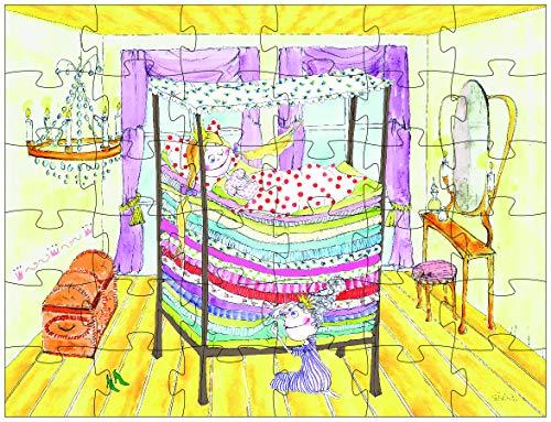 Hans Christian Andersen - Puzzle La princesa y el guisante (Barbo Toys 6101) (BASE TOYS)