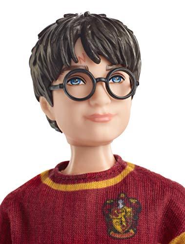 Harry Potter Muñeco Harry Quidditch, juguetes niños + 6 años (Mattel GDJ70)
