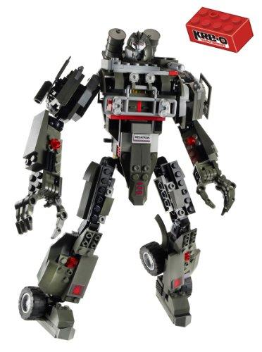 Hasbro 30688148 KRE-O Transformers - Juego de construcción de Megatron
