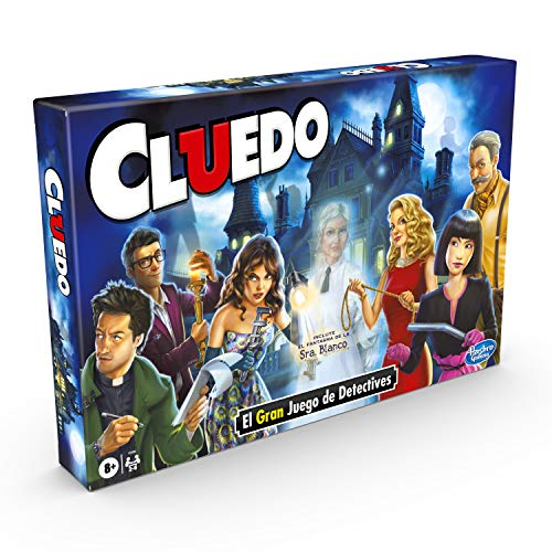 Hasbro Gaming-(Hasbro F0099105) Cluedo Con El Fantasma De Ms White