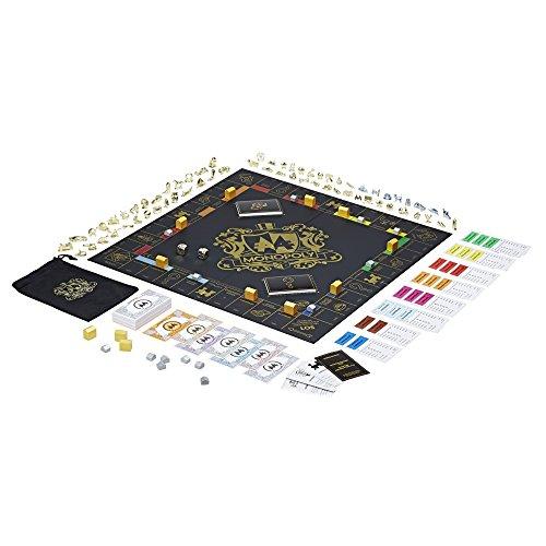 Hasbro Gaming- Monopoly Juego de Mesa Importado de Alemania, Paquete de 64 Tazas (C0729100)