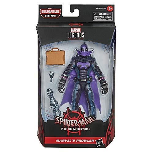 Hasbro Marvel Legends Series Spider-Man: Into The Spider-Verse Marvel Merodeador de 15,24 cm, Juguete Coleccionable para niños de 4 años en adelante