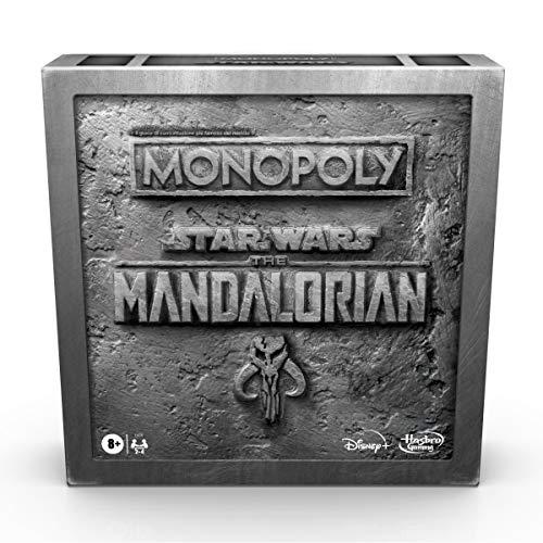 Hasbro Monopoly Edición Star Wars The Mandalorian, Juego en Caja Inspirado en la Serie de televisión The Mandalorian