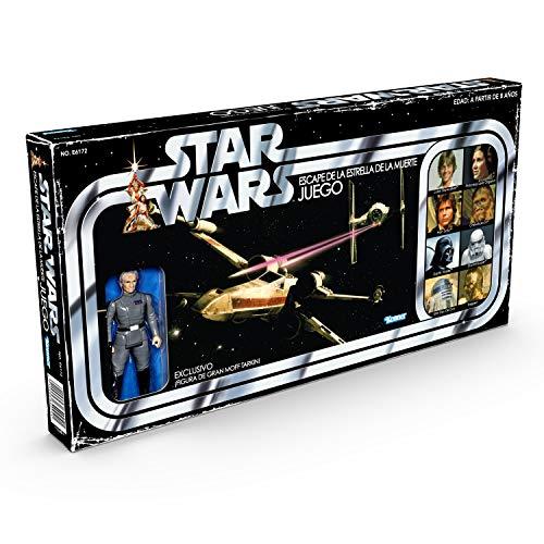 Hasbro Star Wars Retro Game-Escape de la Estrella de la Muerte, multicolor (5010993640041)