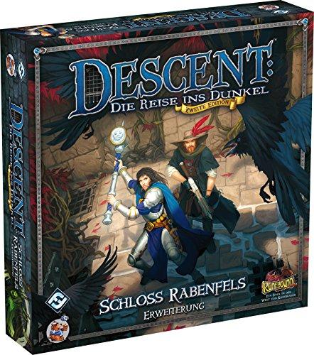 Heidelberger Spieleverlag HEI0624 - Descenso Segunda edición, Raven Castle Rock - Extensión