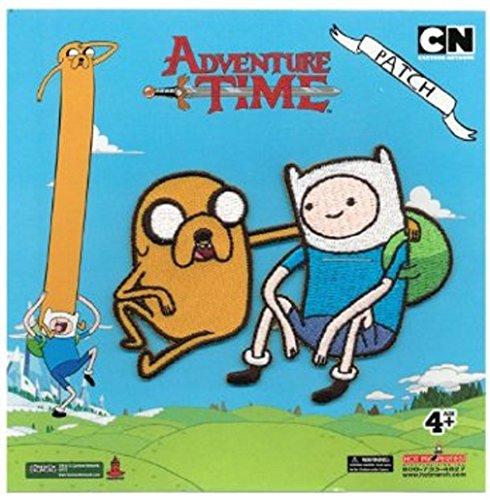Hora De Aventuras Finn y Jake Parche
